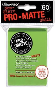 LIME GREEN SMALL PRO MATTE DP 60-CT