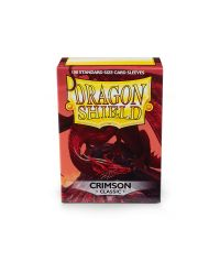 DRAGON SHIELD CLASSIC SLEEVES (100)-CRIMSON