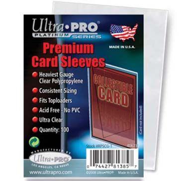 PREMIUM CARD SLEEVES