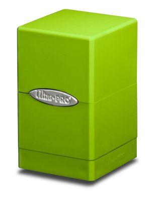 LIME GREEN SATIN TOWER