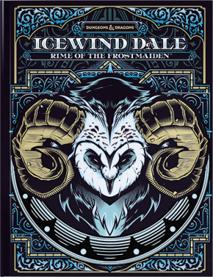 DD5 Icewind Dale: Rime of the Frostmaiden - Alt Cover Book