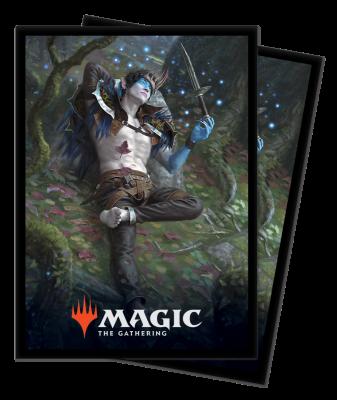 MAGIC THRONE OF ELDRAINE VER.2 DECK PROTECTOR 100CT