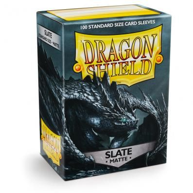 DRAGON SHIELD MATTTE SLATE 100-CT