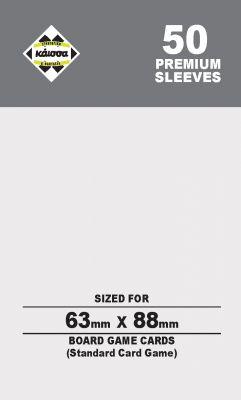 80M SLEEVES 63Χ88 (CARD GAME)