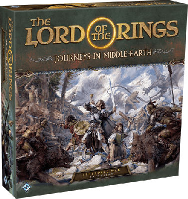 Journeys in Middle-Earth: Spreading War