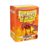 DRAGON SHIELD ΜΑΤΤΕ ORANGE 100-CT