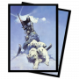 Frazetta Silver Warrior Deck Protector 100ct