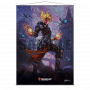 MAGIC CHANDRA STAINED GLASS WALL SCROLL