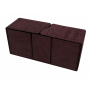 SUEDE RUBY ALCOVE VAULT DECK BOX