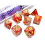 Vortex Underworld/Yellow Polyhedral 7-Die Set