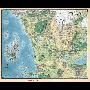 DD5 Faerun Realm and Sword Coast Map (68.5 x 81 cm)