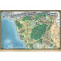 "DD5 Savage Frontier Map (31""x21"")"