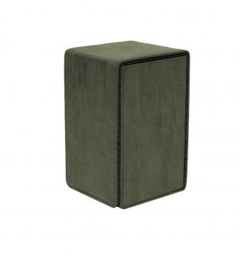 Suede Emerald Alcove Tower Deck Box