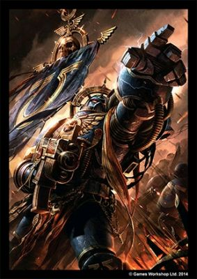 WH 40K SLEEVES: SPACE MARINES