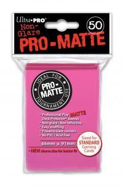 BRIGHT PINK PRO-MATTE DECK PROTECTORS